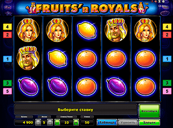 Скриншот Fruits and Royals