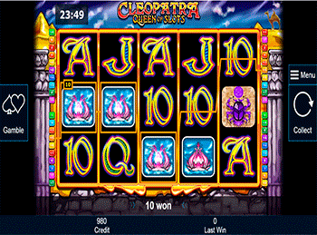 Скриншот Cleopatra Queen Of Slots